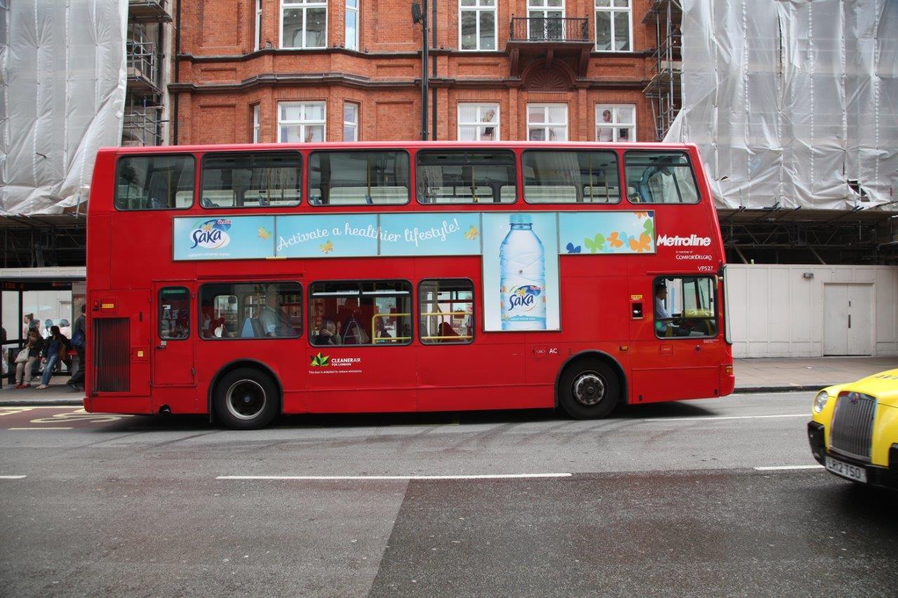 Saka Ads on Bus