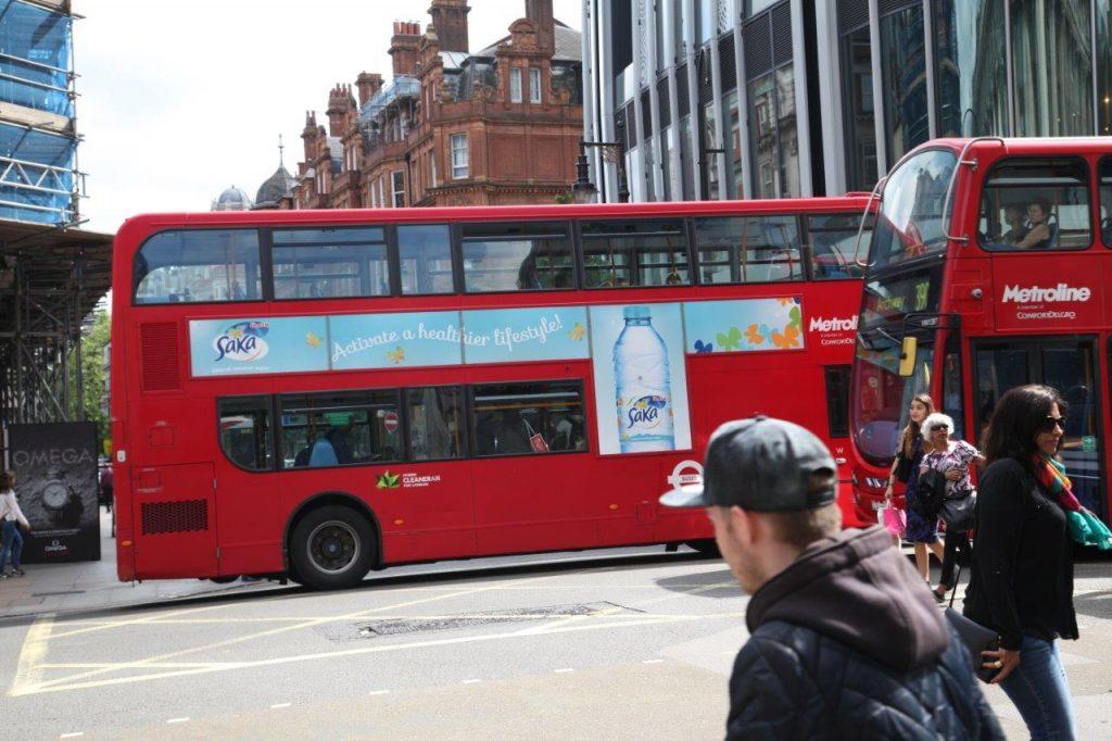 Saka Bus Ad